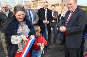 Inauguration de la cuisine de Gonfreville l'Orcher