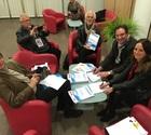 Pascal Bouchard (journaliste, Toutéduc), Jean-Dominique Delaveau (journaliste, Acteurs de la Vie Scolaire), Michel Lejeune (chargé de missions, Ligue de l'enseignement), Christophe Hébert (président, AGORES), Rozenn Merrien (présidente, ANDEV)
